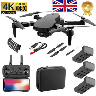 S70PRO Drone With 4K HD Dual Camera Wifi FPV Foldable RC Quadcopter Drone`UK • 35.78£