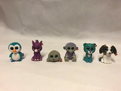 "6x TY Beanie Boos Mini Boo Small Collectible Toy Figures (""2 Inches/5 Cm) • 16£"