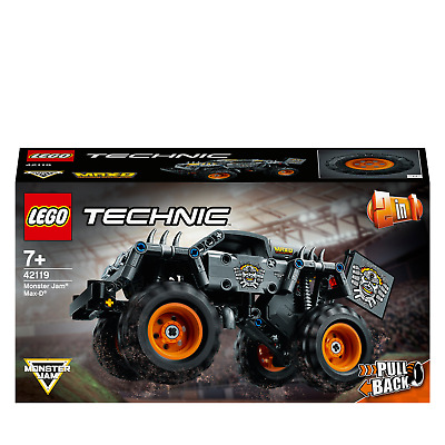 LEGO 42119 Technic Monster Jam Max-D Truck Toy To Quad Bike • 18.95£