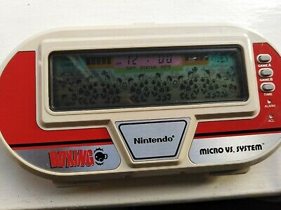 Nintendo Micro Vs System BOXING, Vintage LCD Handheld / Tabletop Game • 69£