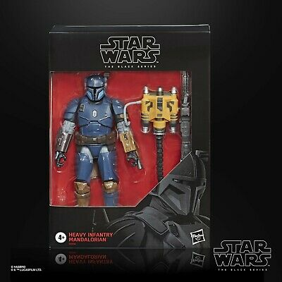 Star Wars Black Series 6  Heavy Infantry Mandalorian Deluxe Action Figure • 28.99£
