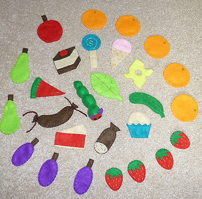 SALE-The Very Hungry Caterpillar Mini Felt Story Pack - Story Telling Sack, EYFS • 14.99£