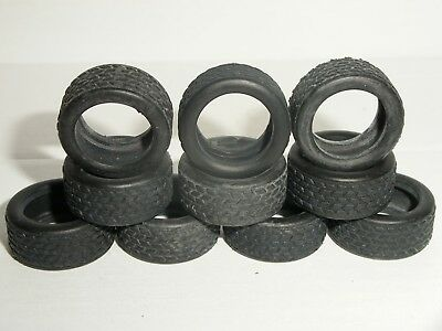Scalextric - W8204B Front Tyres / 1990s Saloons / Roadtread X10 - NEW Old Stock • 3£