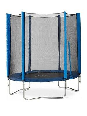 PlumBlue 6ft Trampoline And Enclosure D297 • 79.99£