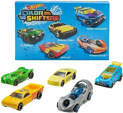 Hot Wheels Colour Shifters 5 Pack Die Cast Cars • 26.99£
