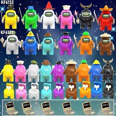 12Pcs Among Us Minifigure Fit Lego Game Toy Kids Birthday Collection Gift UK • 16.99£