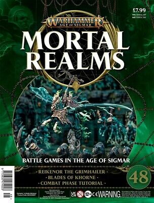Warhammer Age Of Sigmar Mortal Realms 48 With Reikenor The Grimhailer • 14.95£
