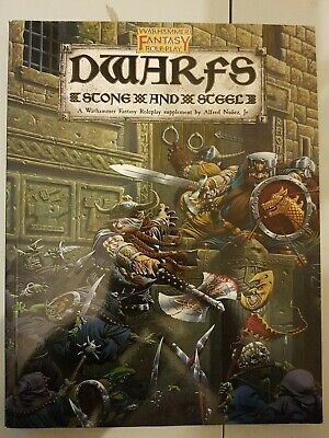Warhammer Fantasy Roleplay - DWARFS: STONE AND STEEL (ULTRA RARE) • 26£