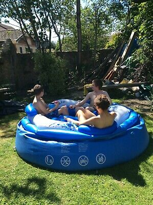 Inflatatable Floating Island; Seats 3; Approx 191 X 178cm; Hen/stag/pool Party • 12£