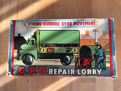 WellsToys GPO Repair Lorry Tinplate Model 9/619. MIB Simply Incredable Condition • 145£