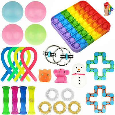 24PCs Fidget Sensory Toys Set Autism ADHD Stress Relief Special Need Education # • 16.44£