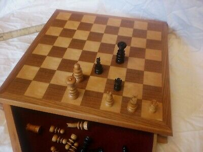 Chess Board Wooden • 39£