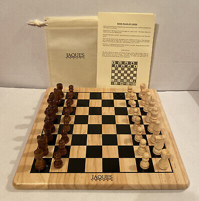 Jacques Of London Wooden Chess Set • 45£