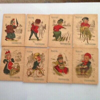 A Victorian Children's Playing Card Game • 9.99£