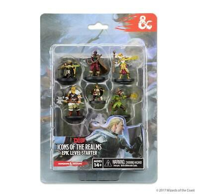 D&D Icons Of The Realms Miniatures 7-Pack Epic Level Starter • 19.99£