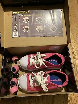 Heeely's X2 Pink And White Size 13 • 9.99£