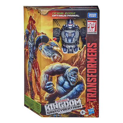 Transformers War For Cybertron: Kingdom Voyager Class - Optimus Primal • 26.99£