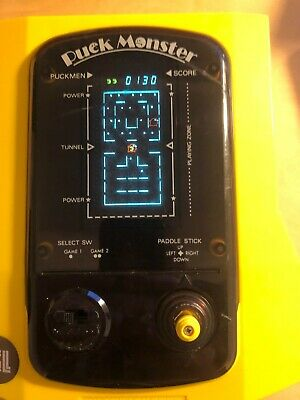 CGL Puck Monster Vintage 1982 Tabletop Electronic Game - Working But No Sound • 25£