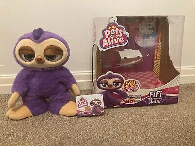 Pets Alive Fifi The Flossing Sloth • 11.47£