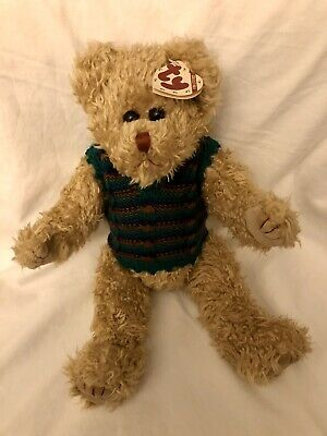 Grover Gold Bear Ty Attic Treasures Jumper 14 Inch Jointed Legs New With Tags • 10.99£