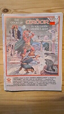 The Court Of Ardor In Southern Middle Earth Ice Merp #2500 1983 • 17£