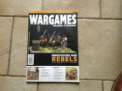 Wargames Soldiers & Strategy Issue 75 Vgc • 3.30£