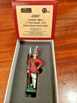 Britains 43007 Redcoats - Grenadier Officer - 1st Foot Guards 1755 • 18£