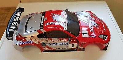 Tamiya TGS Or TT01/E  / TT02 Nissan Body Shell In Excellent Condition VGC Used. • 18£