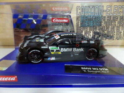 BMW M3 DTM Carrera Digital 132 1/32 Slot Car B.Spengler #7 BMW BANK. NEW IN BOX • 59.99£