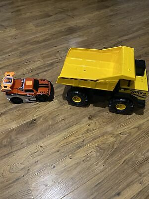 Toy Cars - Dumper Truck And Racing Car • 5£