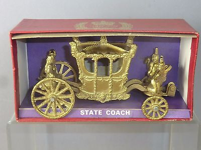 CRESCENT TOYS  MODEL No.1303  ROYAL  STATE COACH       PART BOXED   VN MIB LOT2 • 45£