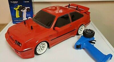 Tamiya TT01E Ford Sierra RS500 RWD Only  Brand New Shelf Queen Complete And RTR • 175£