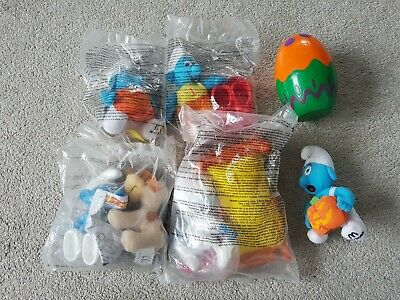 The Smurfs McDonalds Toy Bundle • 9.95£