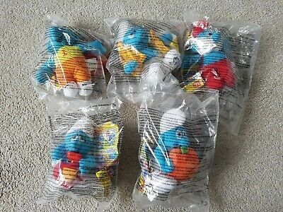 The Smurfs McDonalds Soft Toy Bundle • 9.95£