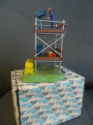 Vintage Tri-ang Scalextric Boxed F/302 Original Rubber Base Tv Camera & Crew Set • 36£