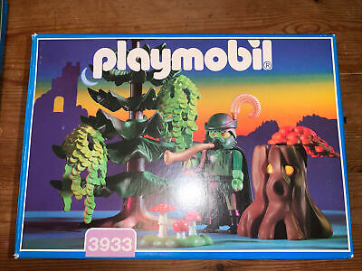 Playmobil 3933 Ghost Of The Forest Vintage Rare With Box And Instructions • 35£