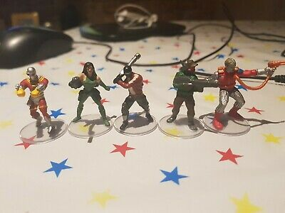Zombicide, D20, Modern, Cyberpunk Miniatures - 28-32mm Job Lot X 5 • 6.99£