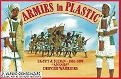 Armies In Plastic 1/32 Dervish Warriors Ansars 1880s Set 5440 HEADER BAG • 11.95£