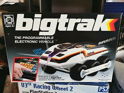 Big TRAK : 1980's Robotic Toy 2010 Retro Edition. • 35£
