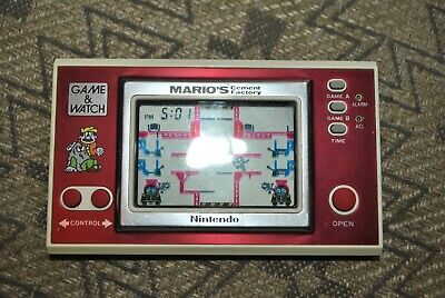 Nintendo Game And Watch Mario's Cement Factory Original Fully Working & Tested • 74.99£