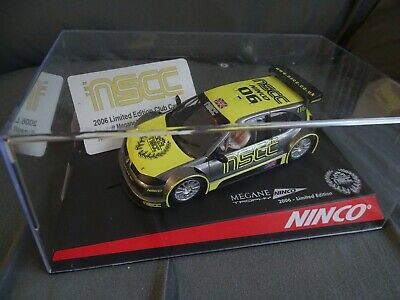 Ninco Boxed 50393 Renault Megane Trophy Nscc 2006 Limited Edition 97/500 Only! • 24£