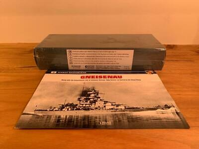 Atlas Editions Legendary Warships Of Wwii, Gneisenau - Factory Sealed • 25£