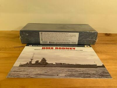 Atlas Editions Legendary Warships Of Wwii, Hms Rodney - Factory Sealed • 40£