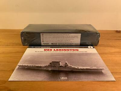 Atlas Editions Legendary Warships Of Wwii, Uss Lexington - Factory Sealed • 25£