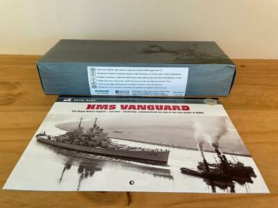 Atlas Editions Legendary Warships Of Wwii, Hms Vanguard • 17.50£