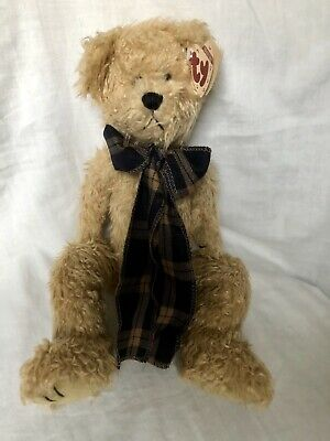 Bearington Bear Ty Attic Treasures Scarf Articulated Arms Legs New With Tags • 8.99£