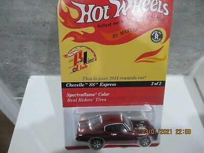 Hotwheels Rlc Collectors.com 2011 Redline Club 70 Chevy Chevelle Ss Express  • 40£