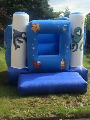 Underwater Themed Bouncy Castle/Ball Pit • 45£
