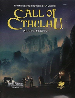 Call Of Cthulhu Keeper Screen: Horror Roleplaying In The Worlds Of ... BOOK NEW • 34.14£