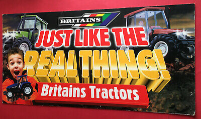 Scarce 1990's Britains Shop Advertising Promotion Hanging Board • 49.99£